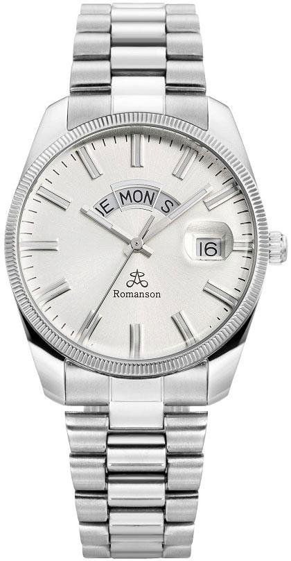 Мужские часы Romanson TM9A28MMW(WH) мужские часы romanson tl5140smc wh