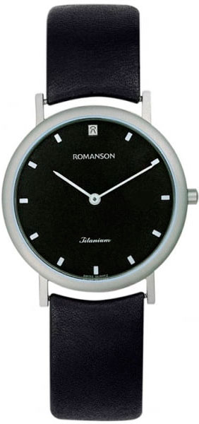 Женские часы Romanson UL0576SLW(BK) romanson ul0576slw gr