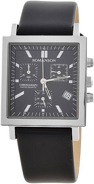 Мужские часы Romanson UL2118SMW(BK)
