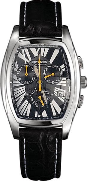 Мужские часы Romanson UL6114HMW(BK)-ucenka