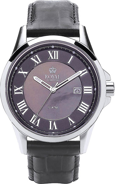 Мужские часы Royal London RL-41262-01 royal london rl 21210 01 royal london
