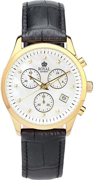 цена Женские часы Royal London RL-20034-03 онлайн в 2017 году