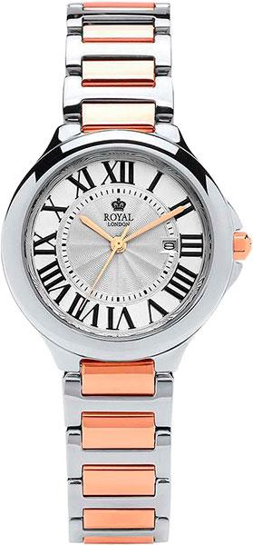 цена Женские часы Royal London RL-21378-04 онлайн в 2017 году