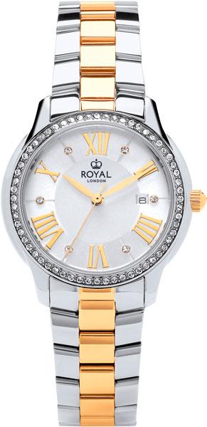 цена Женские часы Royal London RL-21379-05 онлайн в 2017 году