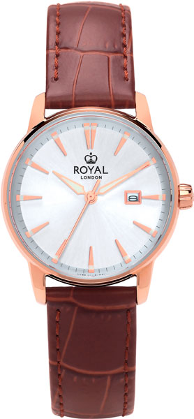 цена Женские часы Royal London RL-21401-03 онлайн в 2017 году