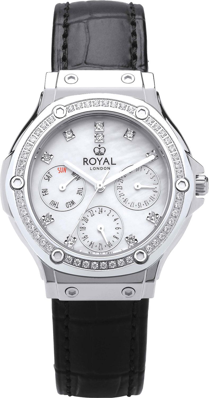 цена Женские часы Royal London RL-21431-01 онлайн в 2017 году
