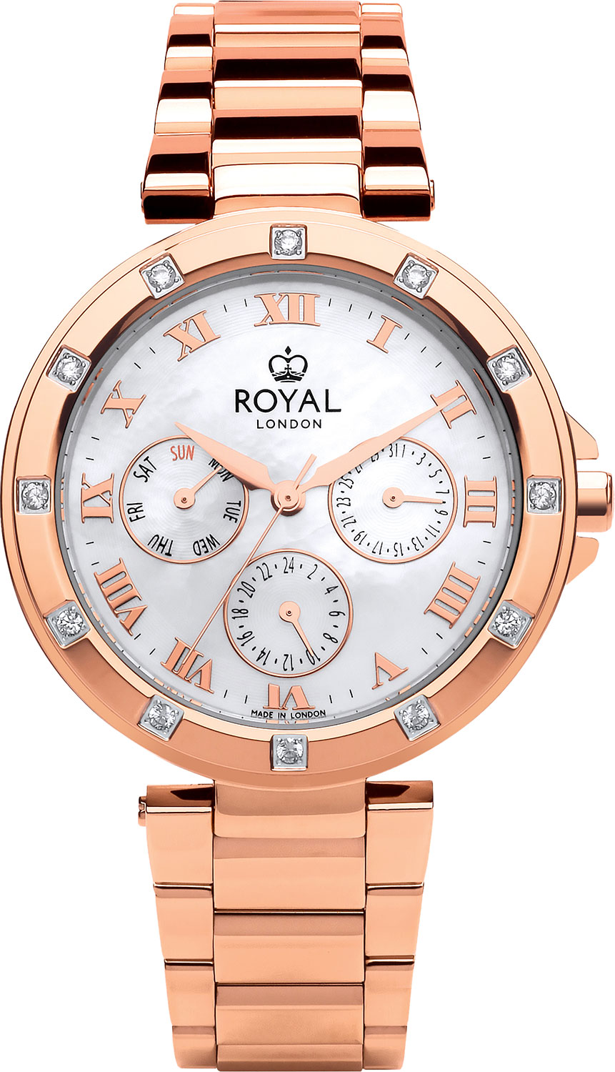 Женские часы Royal London RL-21434-07 royal london royal london 90008 01 pocket