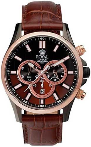 Мужские часы Royal London RL-41003-03 мебельный степлер gross 41003