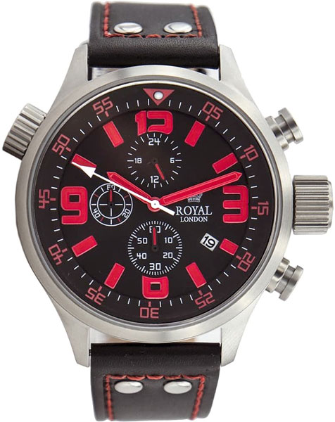 Часы Royal London RL-90023-01 Часы Oris 560-7687-49-19LS