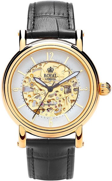 Мужские часы Royal London RL-41150-02 royal london royal london 90008 01 pocket