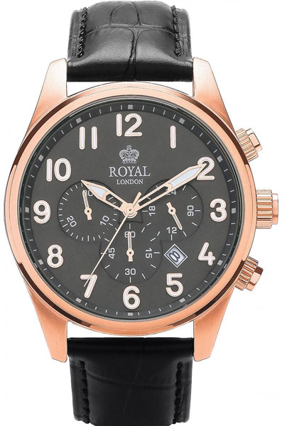 Мужские часы Royal London RL-41201-03 royal london royal london 90008 01 pocket