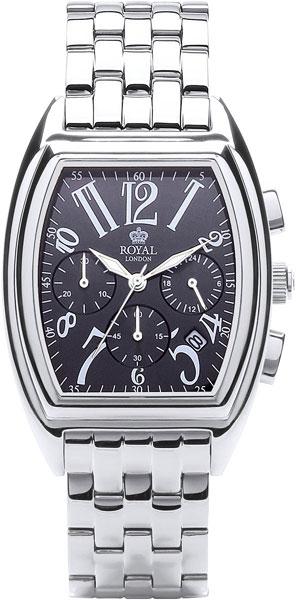 цена Мужские часы Royal London RL-41221-07 онлайн в 2017 году