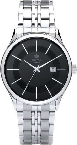 Мужские часы Royal London RL-41291-01 royal london rl 21210 01 royal london