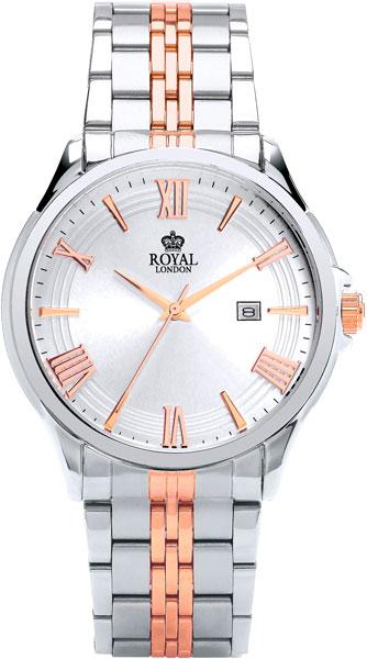 Мужские часы Royal London RL-41292-05 mastech ms2108 digital multimeter amper clamp meter current clamp pincers ac dc current voltage capacitor resistance tester