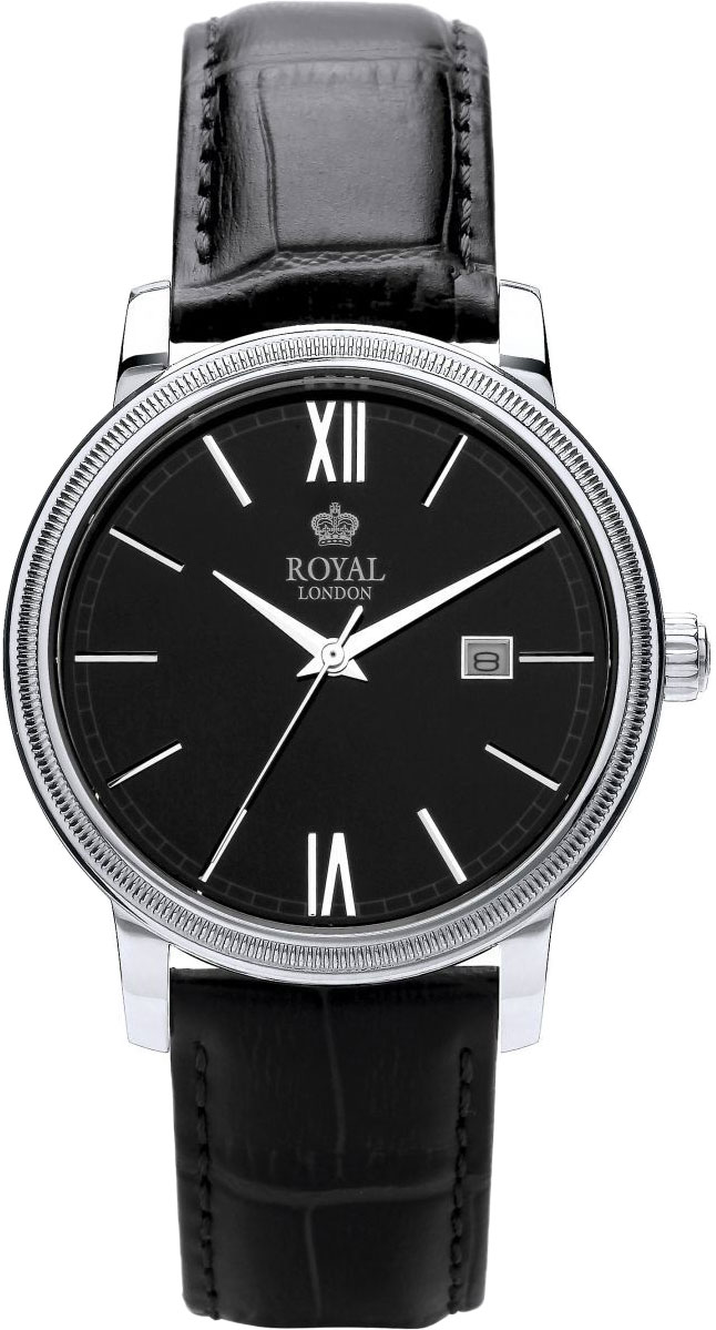 Мужские часы Royal London RL-41299-02 royal london royal london 90008 01 pocket