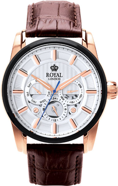 Мужские часы Royal London RL-41324-05 имидж мастер зеркало агат 28 цветов черный глянец 1 шт