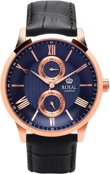 цена Мужские часы Royal London RL-41347-05 онлайн в 2017 году