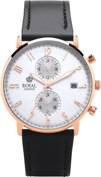 Мужские часы Royal London RL-41352-06 royal london royal london 90008 01 pocket