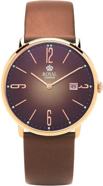 Фото - Мужские часы Royal London RL-41369-07 бензиновая виброплита калибр бвп 13 5500в