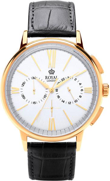 цена Мужские часы Royal London RL-41370-05 онлайн в 2017 году