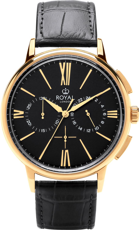 цена Мужские часы Royal London RL-41370-06 онлайн в 2017 году