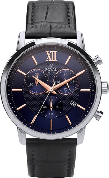 Мужские часы Royal London RL-41392-02 royal london royal london 90008 01 pocket