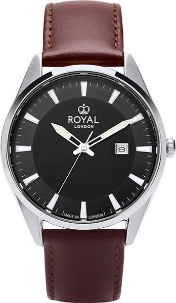 лучшая цена Мужские часы Royal London RL-41393-01
