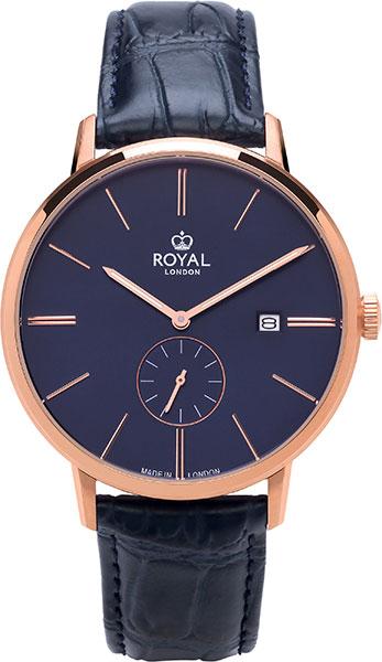 цена Мужские часы Royal London RL-41407-05 онлайн в 2017 году