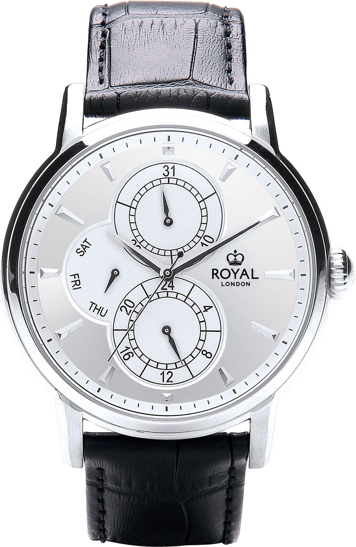Мужские часы Royal London RL-41416-01 royal london royal london 90008 01 pocket