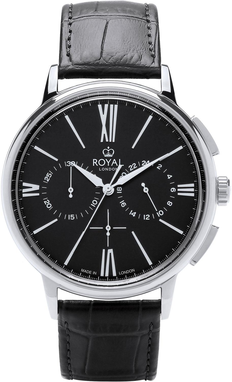 цена Мужские часы Royal London RL-41446-01 онлайн в 2017 году