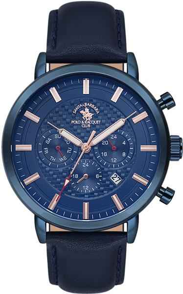 Мужские часы Santa Barbara Polo & Racquet Club SB.7.1136.6 рубашка мужская santa barbara polo