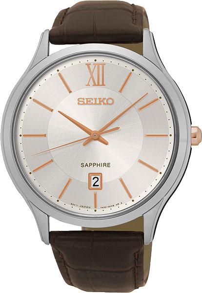 цена Мужские часы Seiko SGEH55P1 онлайн в 2017 году