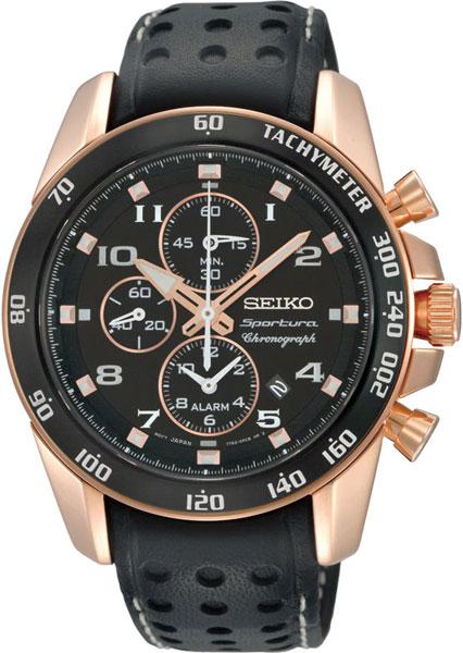 Купить Наручные часы SNAE80J1  Мужские японские наручные часы в коллекции Sportura Seiko