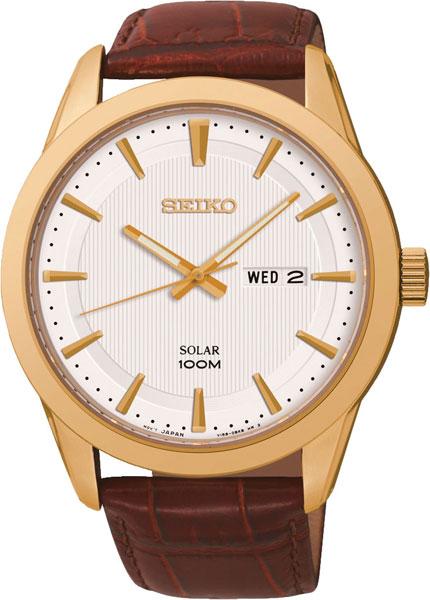 купить Мужские часы Seiko SNE366P2 по цене 9730 рублей