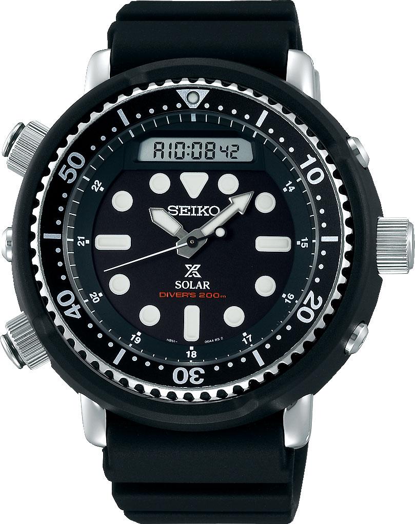 Японские мужские часы в коллекции Prospex Мужские часы Seiko SNJ025P1 фото