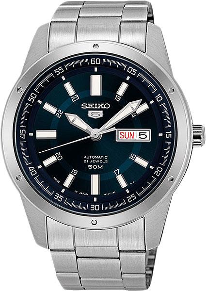 Новые часы Seiko Snx121K - мужские механические часы с автоподзаводом, калибр-7S26. Корпус часов ...