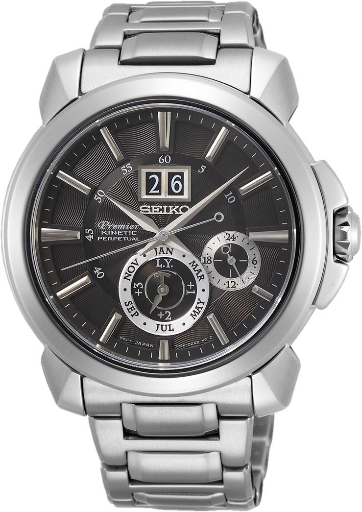 Мужские часы Seiko SNP165P1 удивительные штрихи