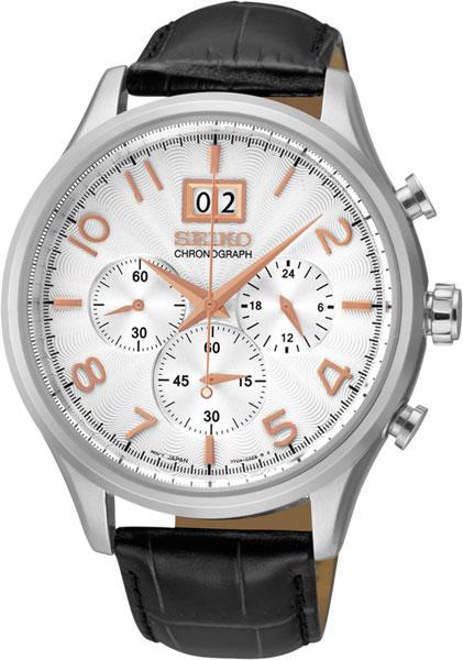 Мужские часы Seiko SPC087P1 u7 2016 новая мода силиконовая и нержавеющая сталь браслет мужчины изделий 18k позолоченный браслеты