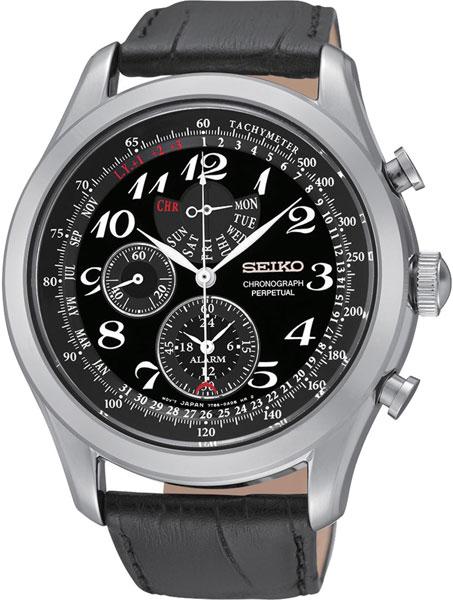 Фото «Японские наручные часы Seiko SPC133P1 с хронографом»