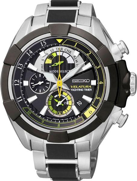 Купить Наручные часы SPC147P1  Мужские японские наручные часы в коллекции Velatura Seiko