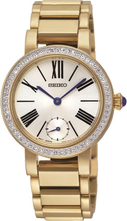 Женские часы Seiko SRK028P1 браслет красцветмет золотой браслет ndнб 12 028 d 0 60 17