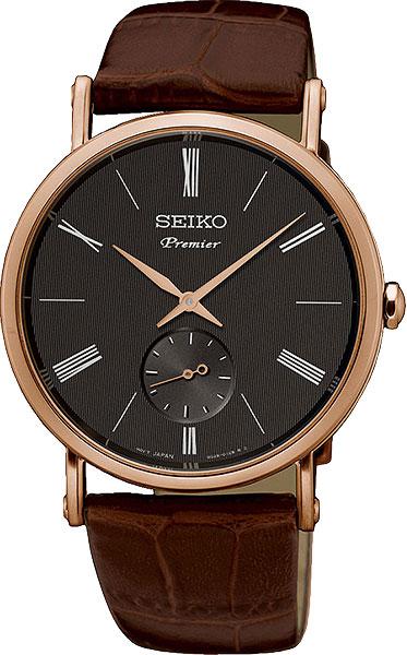 Японские мужские часы в коллекции Premier Мужские часы Seiko SRK040P1 фото
