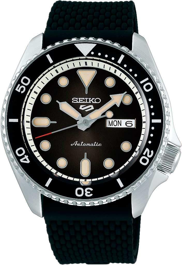 Японские мужские часы в коллекции SEIKO 5 Мужские часы Seiko SRPD73K2 фото