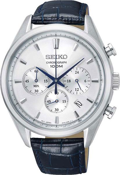 цена Мужские часы Seiko SSB291P1 онлайн в 2017 году