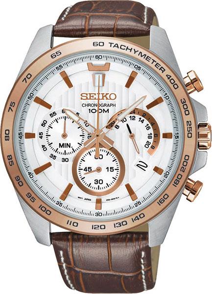 Японские мужские часы в коллекции CS Sports Мужские часы Seiko SSB306P1 фото