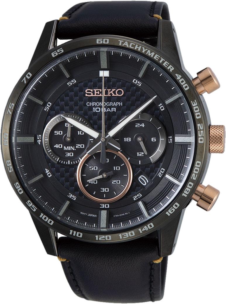 Японские мужские часы в коллекции CS Sports Мужские часы Seiko SSB361P1 фото