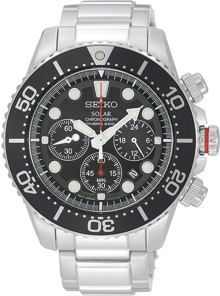 цена Мужские часы Seiko SSC015P1 онлайн в 2017 году