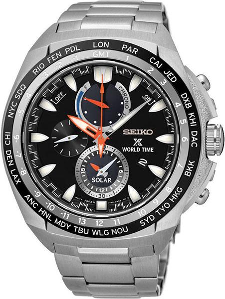 Мужские часы Seiko SSC487P1 цена и фото