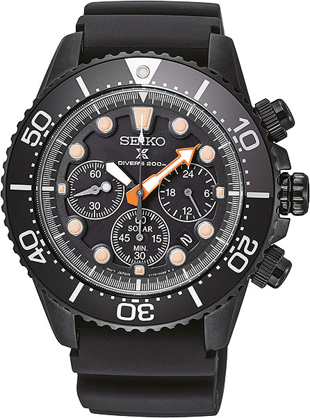 Мужские японские наручные часы Seiko SSC673P1 с хронографом