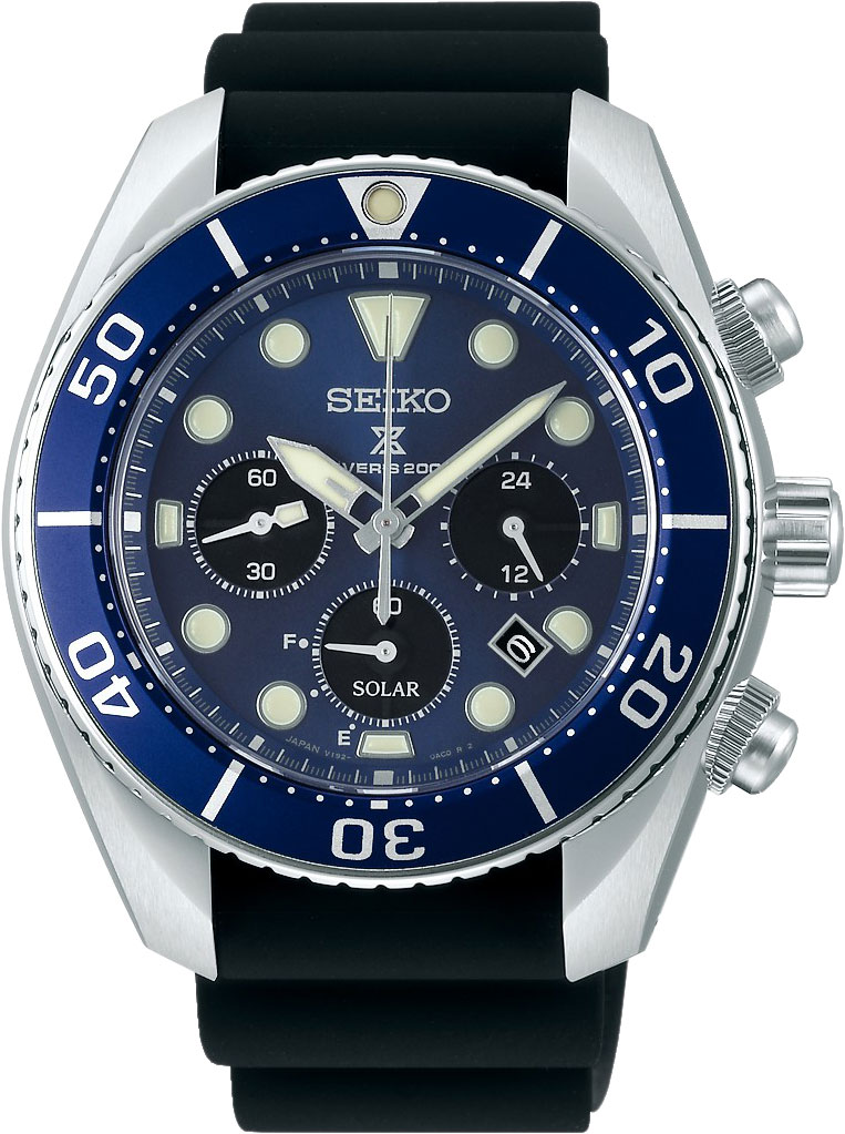 Японские мужские часы в коллекции Prospex Мужские часы Seiko SSC759J1 фото